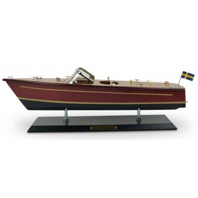 Old Sailor Modellbåt Riva motorbåt - Mahogny