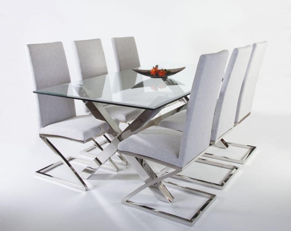 Omtalade Maine matgrupp - Bord inklusive 6 st stolar - 8990 kr - Trendrum.se HQ-26