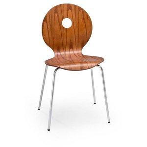 Stol Anitta - Körsbär/krom