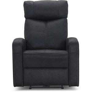 Miami reclinersoffa - Svart