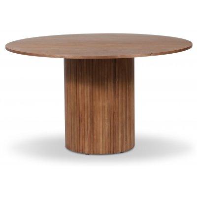 Pose matbord Ø130 cm - Valnöt