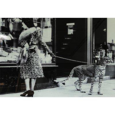 Glastavla Cheeta - 150x100 cm