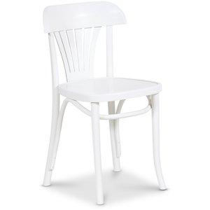 Böjträ stol No 24 klassiker - Vit