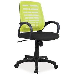 Gracelynn skrivbordsstol - Svart/grön