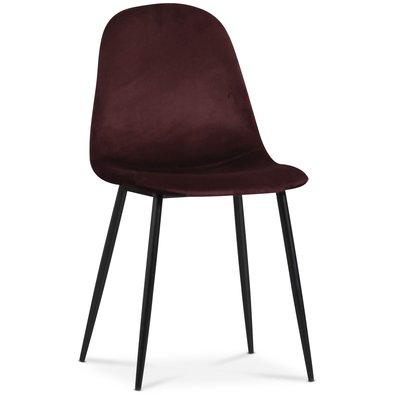 Carisma stol - Bordeaux sammet