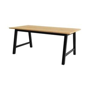 Huntsville matbord - Ek/svart