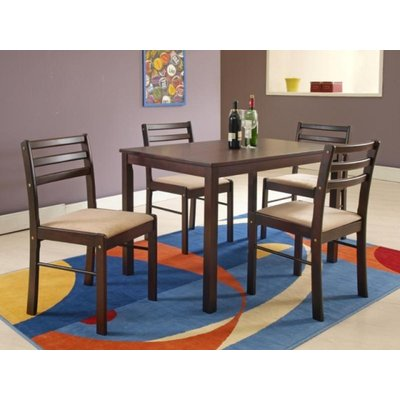 Leonardo Matgrupp - Bord inklusive 4 st stolar