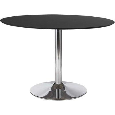 Ibiza matbord - Svart/krom