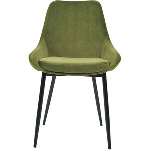 Belfry matstol - Grön sammet