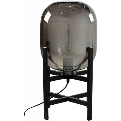Marbystrand bordslampa - Svart/glas