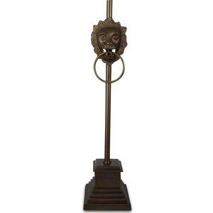 Lejon Golvlampa H150 cm - Antik mässing
