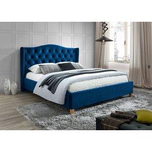 Duncan säng - Blå - 160x200