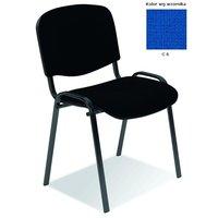 Bernt kontorsstol C6 - Klar blå