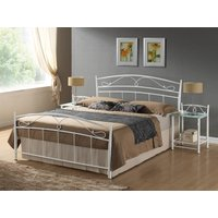 Säng Yeadon 160x200 färg vit