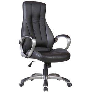 Birna kontorsstol - Svart/mörkgrå