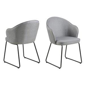 Waterbury matstol - Ljusgrå