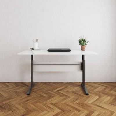 Tyra skrivbord - Svart/vit
