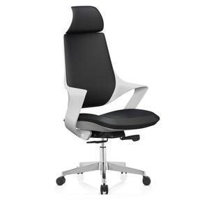 Tristan kontorsstol - Vit/svart