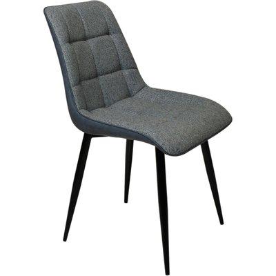 Ekerö stol - Svart/grå