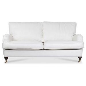 Howard Watford deluxe 3-sits soffa - Vitt PU