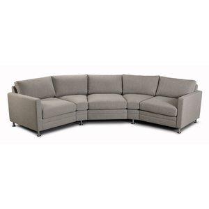 Modern Living soffa Svängd soffa - Valfri färg!