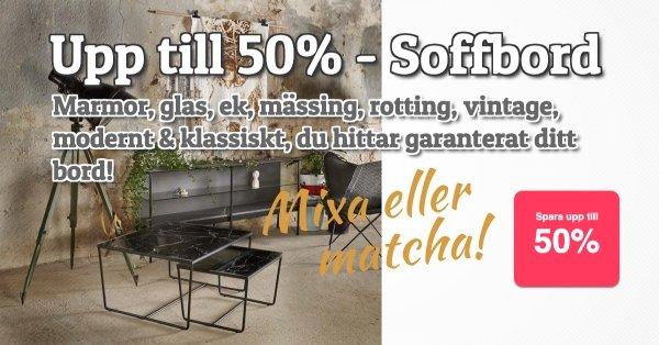 Soffbord - Spara upp till 50%