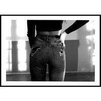 RIPPED JEANS - Poster 50x70 cm