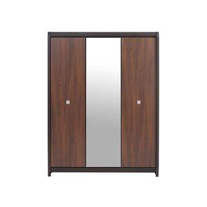 Domingo garderob - Wenge/brun