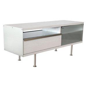 TV-möbel Frank - 116 cm (vit ekanér)