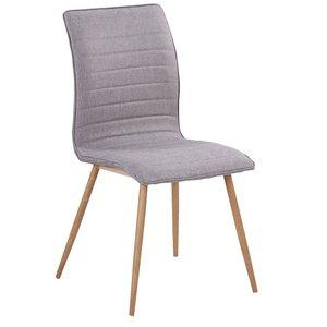 Quick stol - Grå/Ek