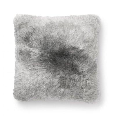 Nelly kuddfodral ekologiskt fårskinn - Grå