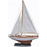 Old Sailor Modellbåt Concordia segelbåt - vit
