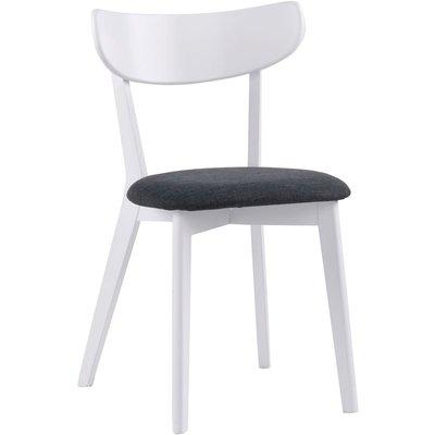 Catherine stol - Vit/grå