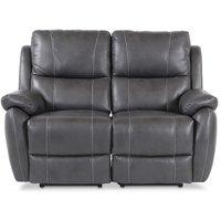 Enjoy Hollywood El-Recliner 2-sits soffa - Grått konstläder