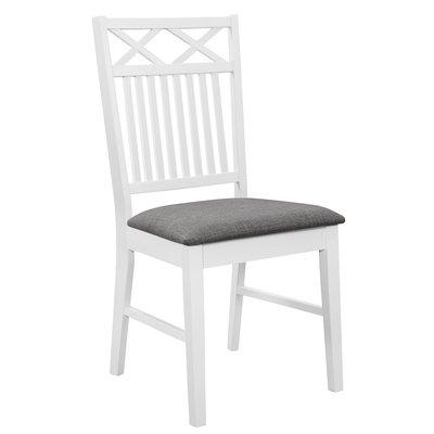 Herrgård Gripsholm matstol - Vit / Grå