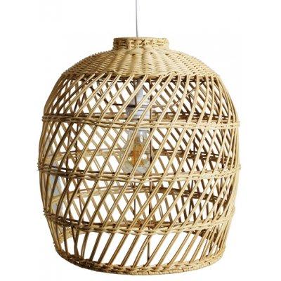Rotting lampskärm 34x36 cm - Natur