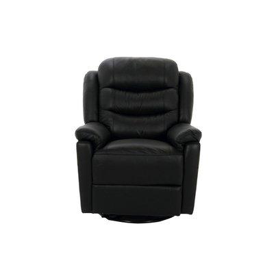 Leicester recliner-fåtölj - Svart