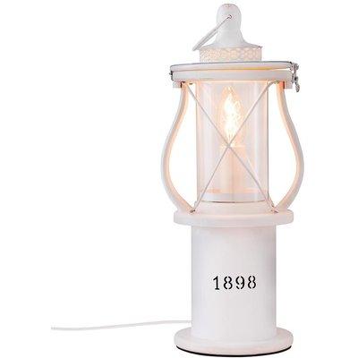 1898 bordslampa - Vit