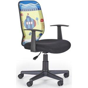 Submarine skrivbordsstol för barn - Gul/svart