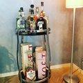 Butler 8 - Drink & rullbord (krom)