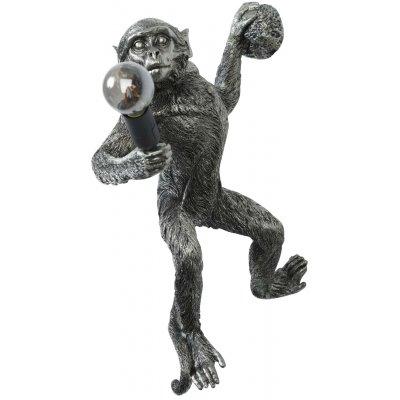 Monkey vägglampa H40 - Silver