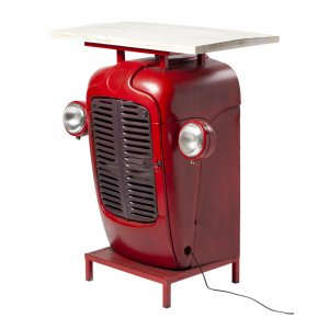 James Barbord / Barskåp - Vintage röd