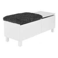 Box sittbänk stor - vit