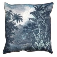 Haiti Kuddfodral 60x60 - Grå / Blå