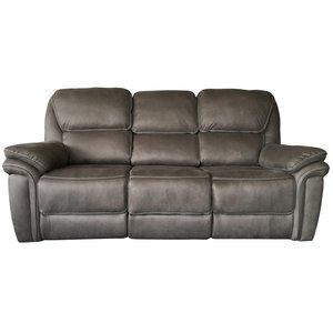 Preston reclinersoffa 3-sits - Grå