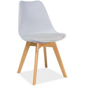 Jeremiah stol - Vit/bok