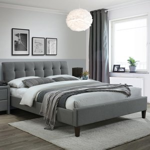 Batol säng - Grå