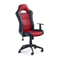 Kaylin 2 stol - svart/röd