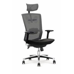 Dionne kontorsstol - Svart/grå