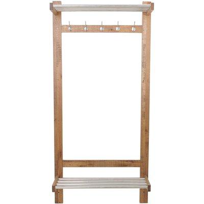 Lerum klädställ -Ek (väggmonterad)